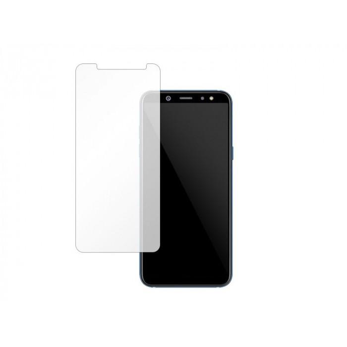 Folie protectie din sticla 2.5D securizata pentru Samsung Galaxy A8 Plus 2018, Transparenta