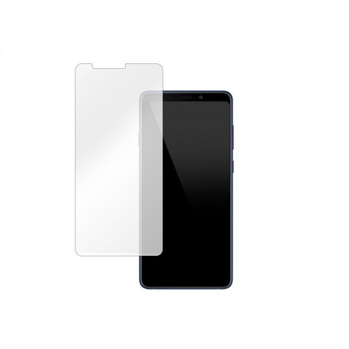 Folie protectie din sticla 2.5D securizata pentru Samsung Galaxy A9 2018, Transparenta