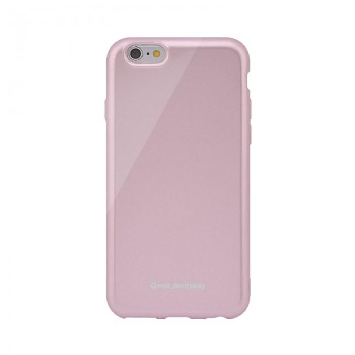 Husa protectie Hana Pearl pentru Apple iPhone 11, Roz