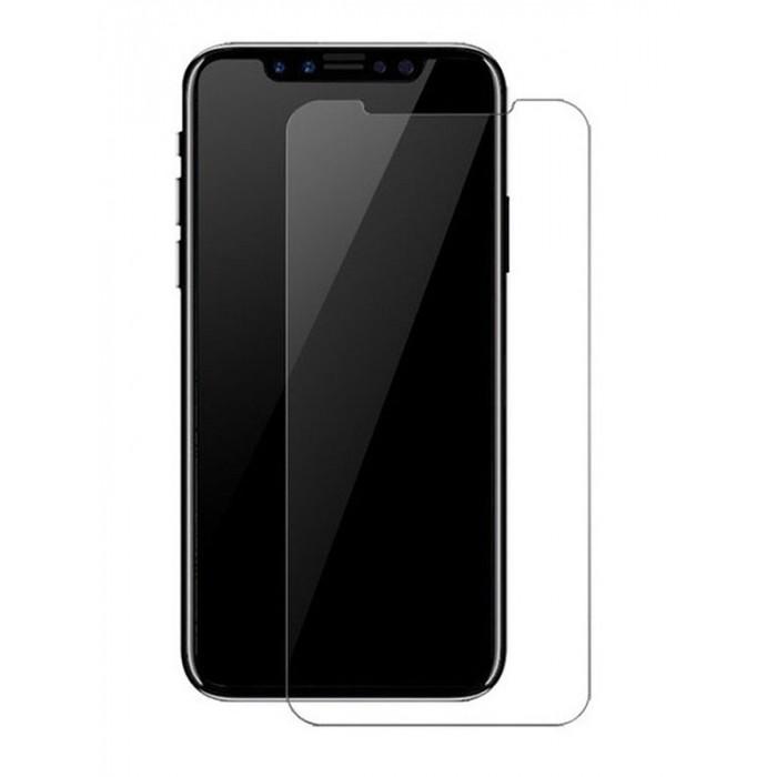 Folie protectie din sticla 2.5D securizata pentru Apple iPhone X/Xs, Transparenta