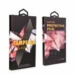 Folie protectie din sticla 3D securizata pentru Apple iPhone 12 Mini, Full Screen, Full Glue, Negru