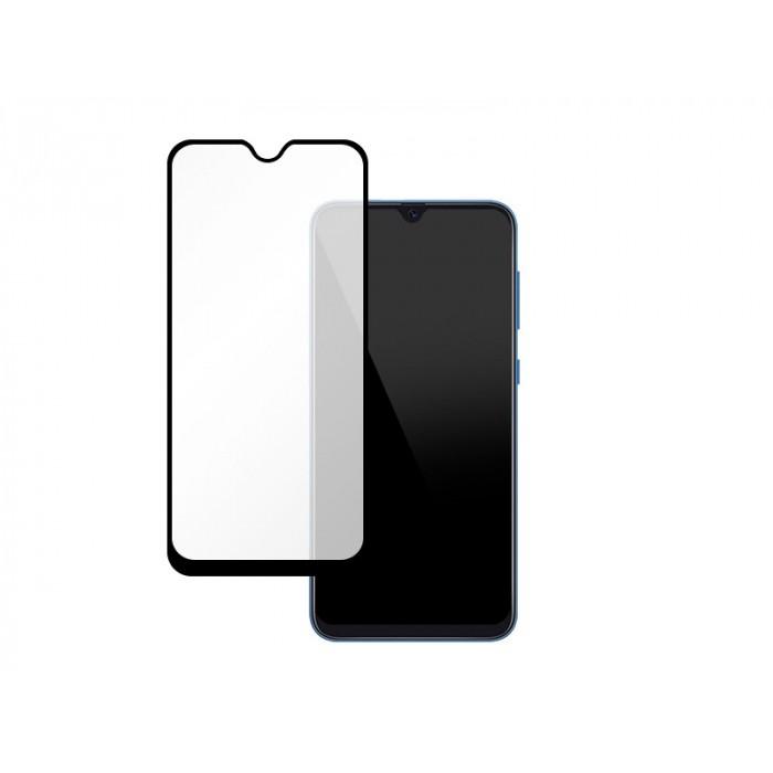 Folie protectie din sticla 3D securizata pentru Samsung Galaxy M30s, Full Screen, Full Glue, Negru