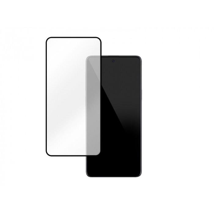 Folie protectie din sticla 3D securizata pentru Samsung Galaxy Note 10 Lite, Full Screen, Full Glue, Negru