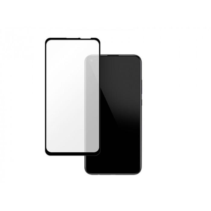 Folie protectie din sticla 3D securizata pentru Huawei P40 Lite E, Full Screen, Full Glue, Negru
