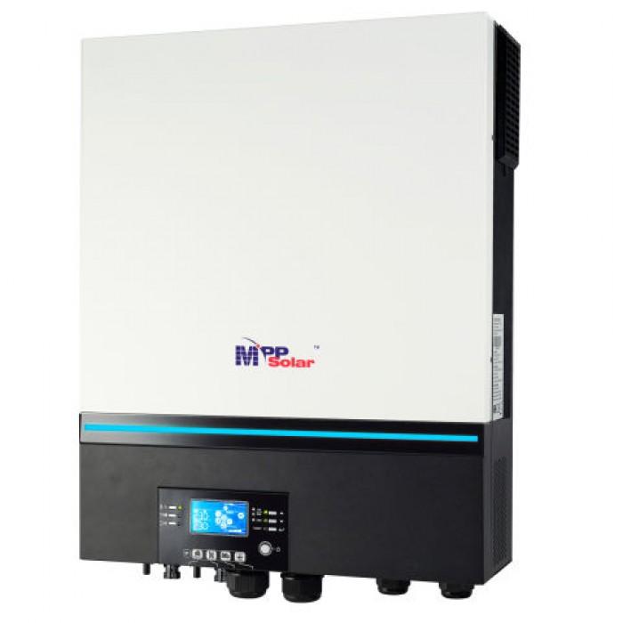 Invertor  seria 8048 MAX, 8 kW - 8000W / 48V cu 2 regulatoare MPPT x 80A