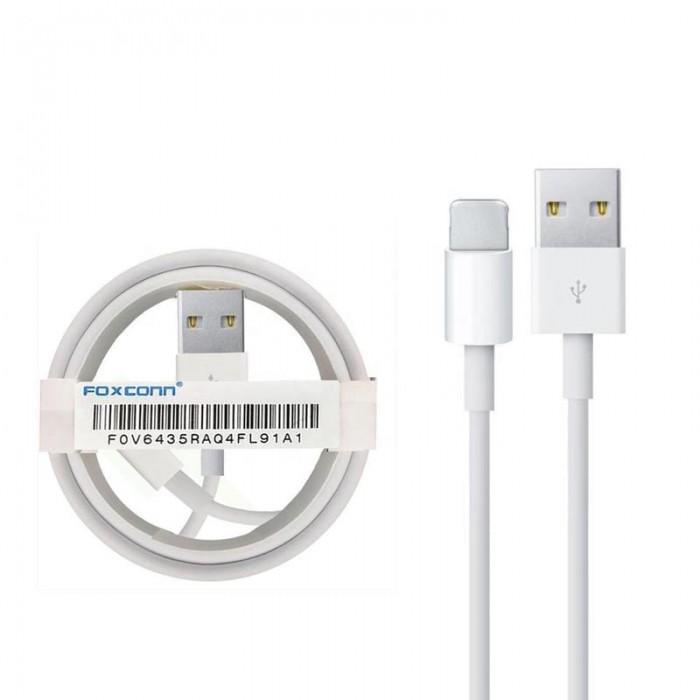 Cablu de date / incarcare Foxconn pentru Iphone cu conector Lightning 2 metri