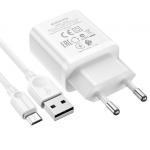 Incarcator retea Borofone micro-USB, 2.1 A