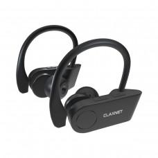 Casti Wireless Sport, CLAXNET S1, Bluetooth 4.2, Negru, True Wireless Stereo