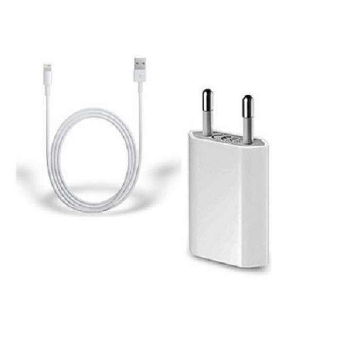 Incarcator Original Foxconn pentru Iphone cablu Lightning, Alb