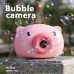 Bubble camera, aparat foto purcelus de facut baloare, roz