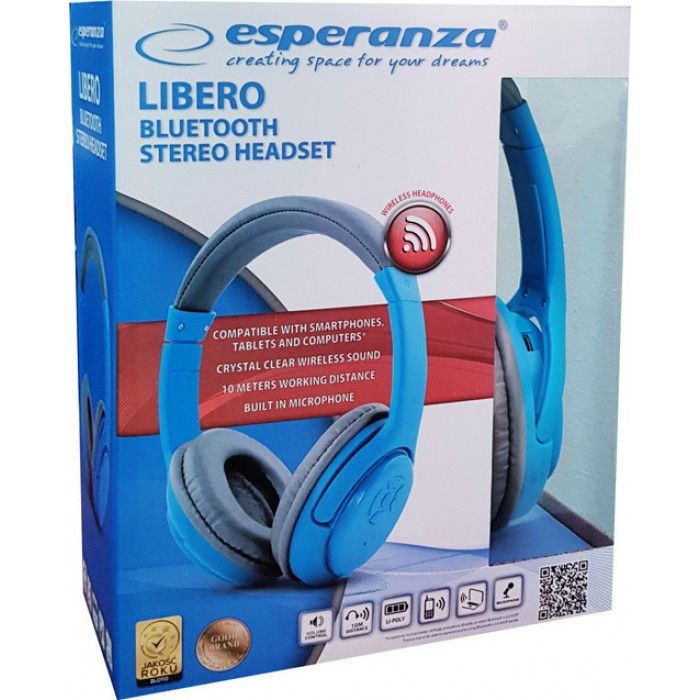 Casti wireless bluetooth LIBERO ESPERANZA