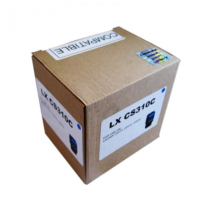 Cartus toner Remanufacturat  compatibil cu Lexmark CS310 cyan
