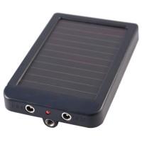 Acumulator extern solar pentru camera de vanatoare
