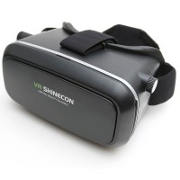 Ochelari 3D-VR SHINECON, Negru