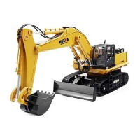 Excavator Huina Toys, 1:16, 2.4GHz, 11CH Radio, Galben