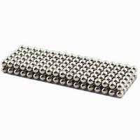 Set bile magnetice Anti-stres, 216 bucati, Silver