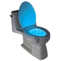 LED Smart pentru toaleta cu Detector de miscare, Alb