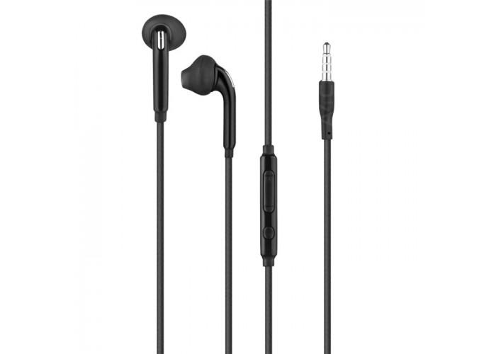 Casti audio iHunt, 3.5mm, Controller, Negru