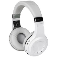 Casti Bluetooth Bluedio H+ White