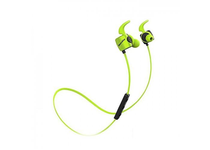Casti Bluetooth Bluedio TE Sport Green