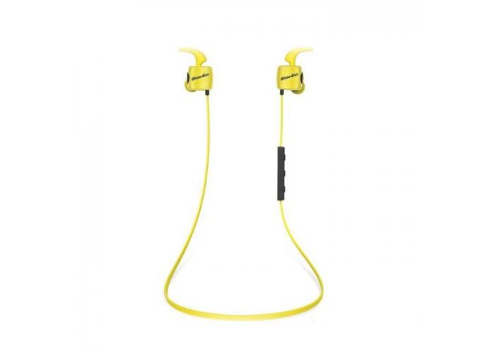 Casti Bluetooth Bluedio TE Sport Yellow