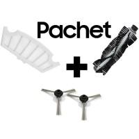 Pachet Filtru + Perie principala + Perii laterale aspirator iHunt Robot Vacuum + Mop