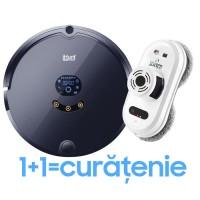 Pachet iHunt Robot Window AutoClean + iHunt Robot Vacuum + Mop