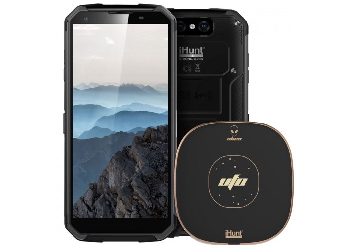 iHunt S90 ApeX 2019 + CADOU Incarcator rapid Wireless iHunt Alien UFO