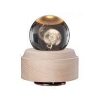 Glob decorativ iHunt 3D cu functie de lampa