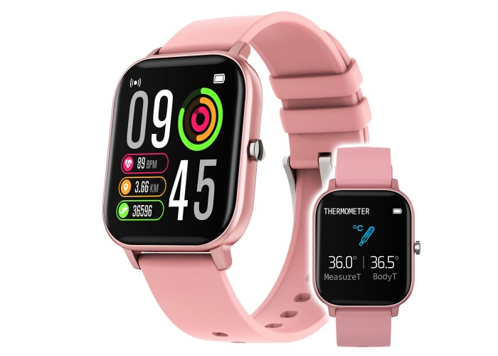 Smartwatch iHunt Watch ME Temp Pro 2021 Pink