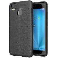 Husa de protectie Leather PROTECTS pentru ASUS ZenFone 3 Zoom (ZE553KL), Black