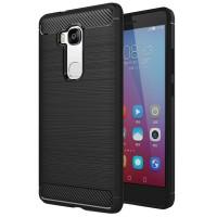 Husa Carbon Huawei Honor 5X, Negru