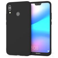 Husa silicon anti-zgarieturi  Huawei P20, Black