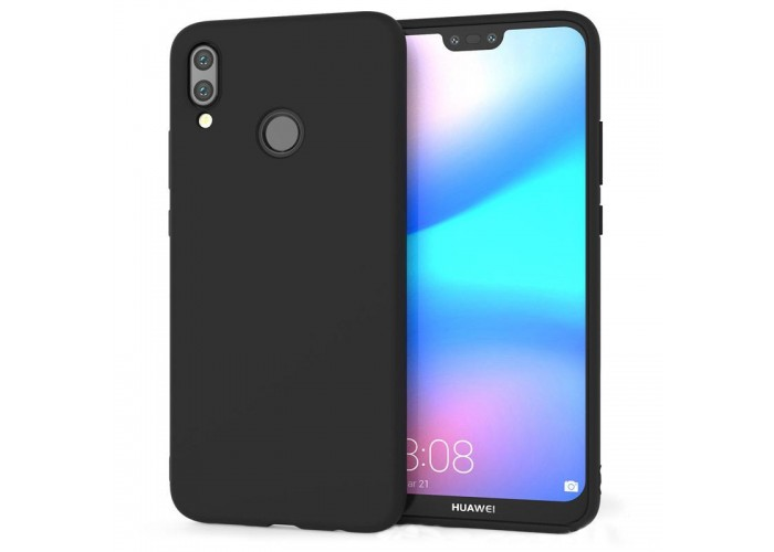 Husa silicon slim Huawei P20, Black