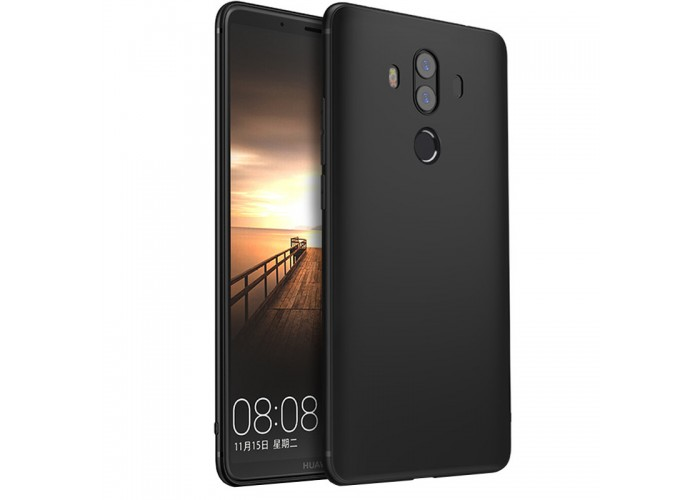Husa silicon slim Huawei Mate 10 Pro, Black