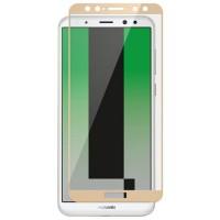 Folie sticla Huawei Mate 10 Lite, Skin Gold