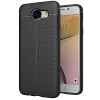 Husa de protectie Leather Huawei Y5 II / Y5 2, Negru