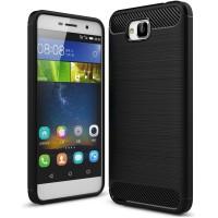 Husa Carbon Huawei Y6 Pro, Negru