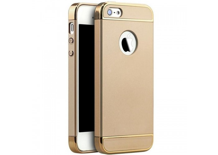 Husa plastic Luxury Ultra-Thin iPhone 5 / 5S / SE, Gold