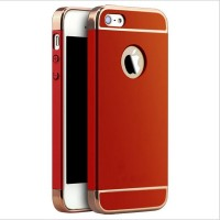 Husa plastic Luxury Ultra-Thin iPhone 5 / 5S / SE, Red