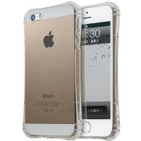 Husa silicon iPhone 5 / 5S / SE, Transparent