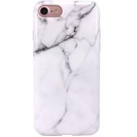 Husa de protectie Shiny pentru iPhone 7, White