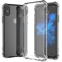 Husa silicon iPhone X, Transparent