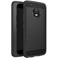 Husa Carbon Motorola Moto G5s, Negru