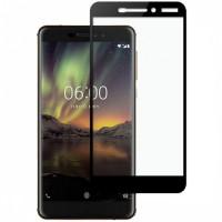 Folie sticla Nokia 6 (2018), Skin Black