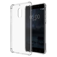 Husa silicon Nokia 6, Transparent