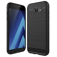 Husa Carbon ARMOR Samsung Galaxy A3 (2017), Negru