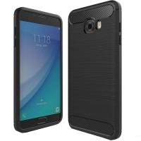 Husa Carbon Samsung Galaxy C5 Pro, Negru