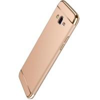 Husa plastic Luxury Samsung Galaxy J3 (2016), Gold