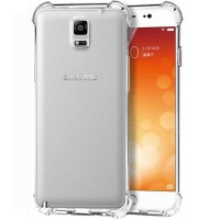 Husa silicon Samsung Galaxy Note 4, Transparent